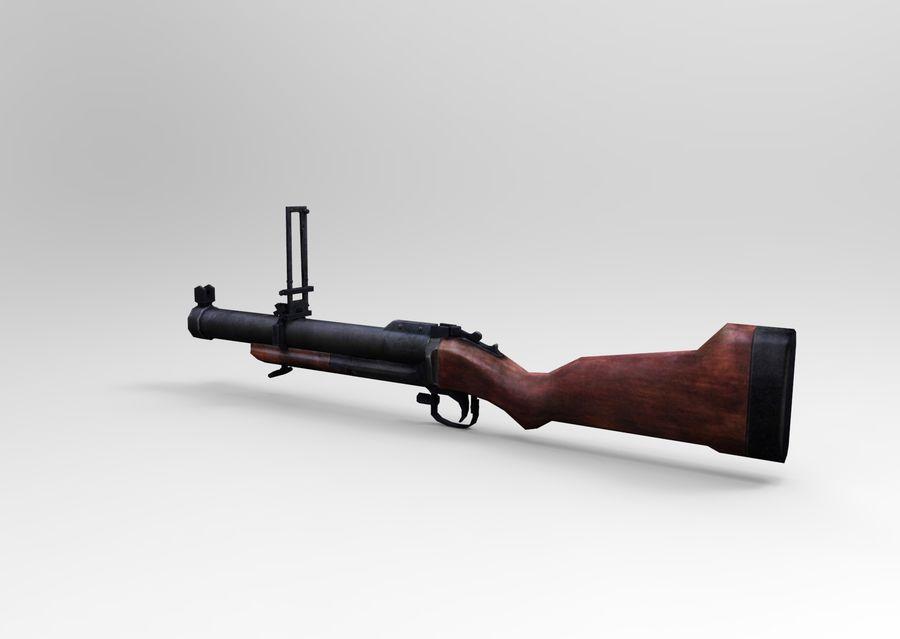 gun royalty-free 3d model - Preview no. 3