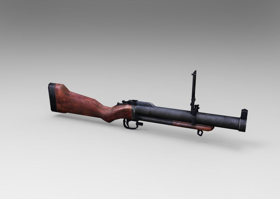 gun royalty-free 3d model - Preview no. 7