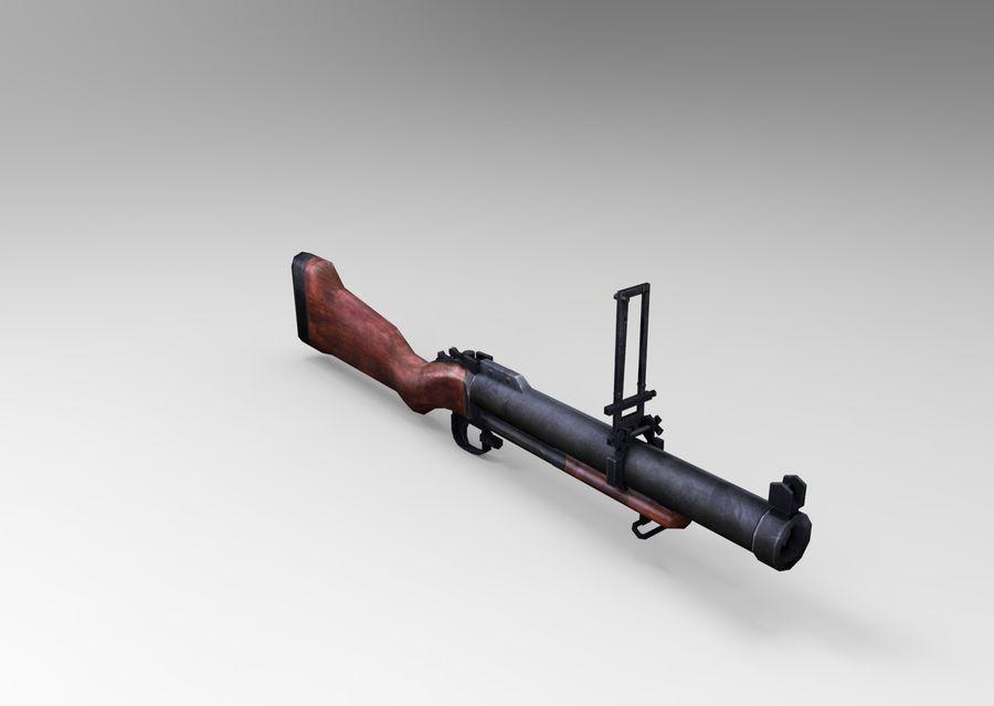 gun royalty-free 3d model - Preview no. 8