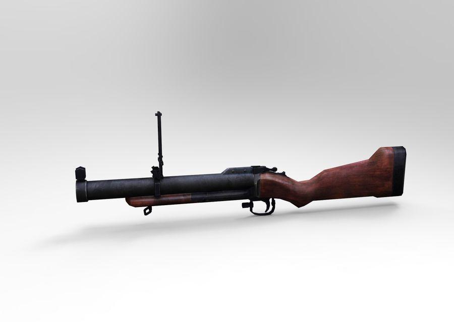 gun royalty-free 3d model - Preview no. 2