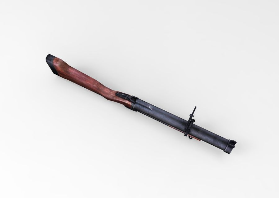 gun royalty-free 3d model - Preview no. 9