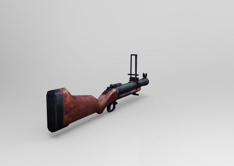 gun royalty-free 3d model - Preview no. 5