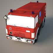 Feuerwehrauto Mercedes 3d model