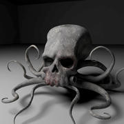 Potwór z ośmiornicy 3d model