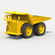 Camión de la basura modelo 3d