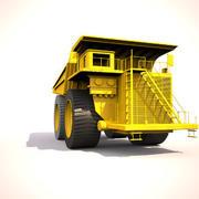 덤프 트럭 3d model