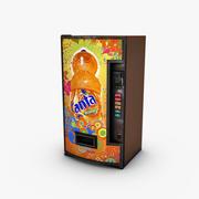 Máquina de venda automática Fanta 3d model