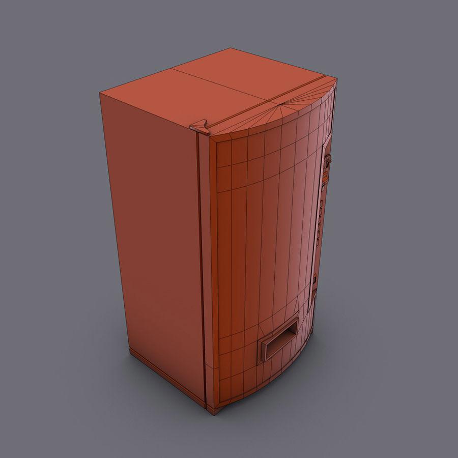 Distributore automatico di coca-cola royalty-free 3d model - Preview no. 7