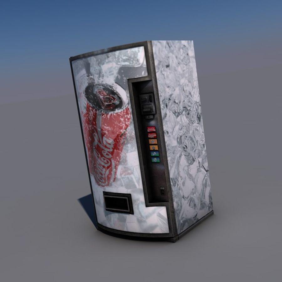 Distributore automatico di coca-cola royalty-free 3d model - Preview no. 3