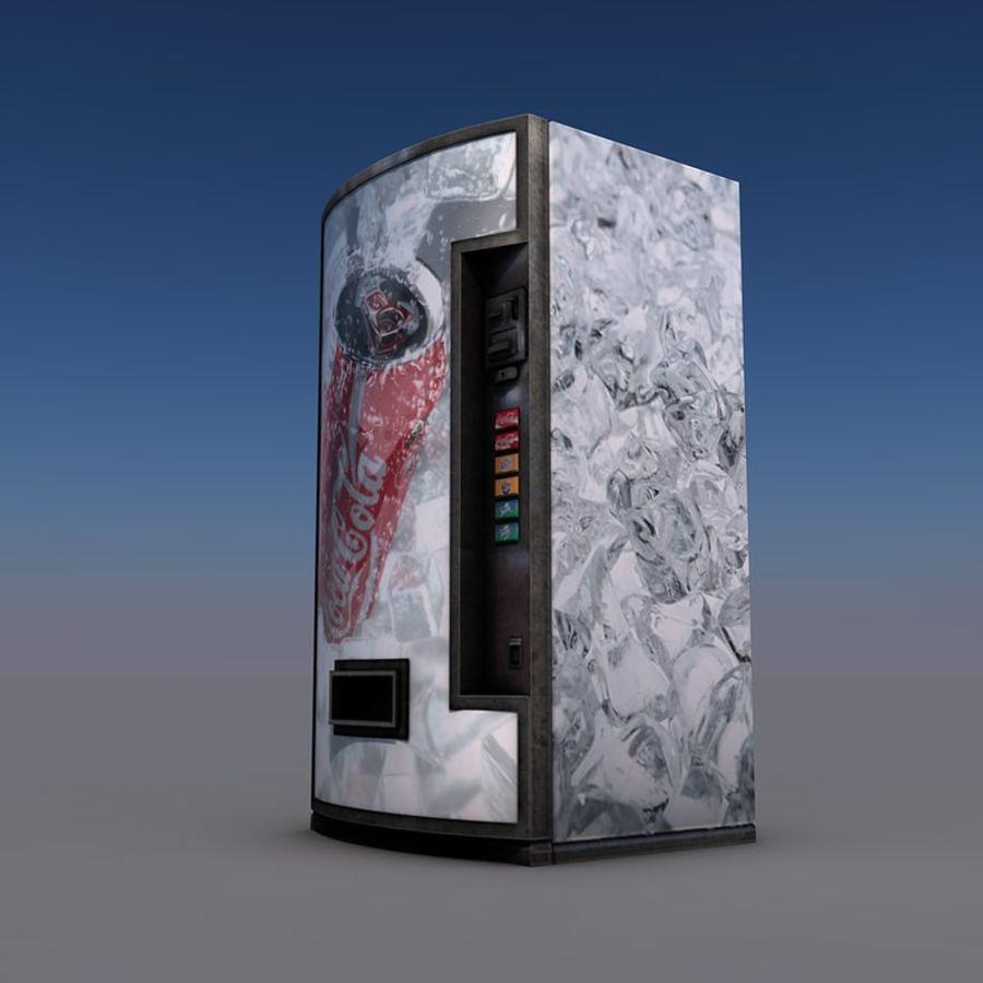 Distributore automatico di coca-cola royalty-free 3d model - Preview no. 4