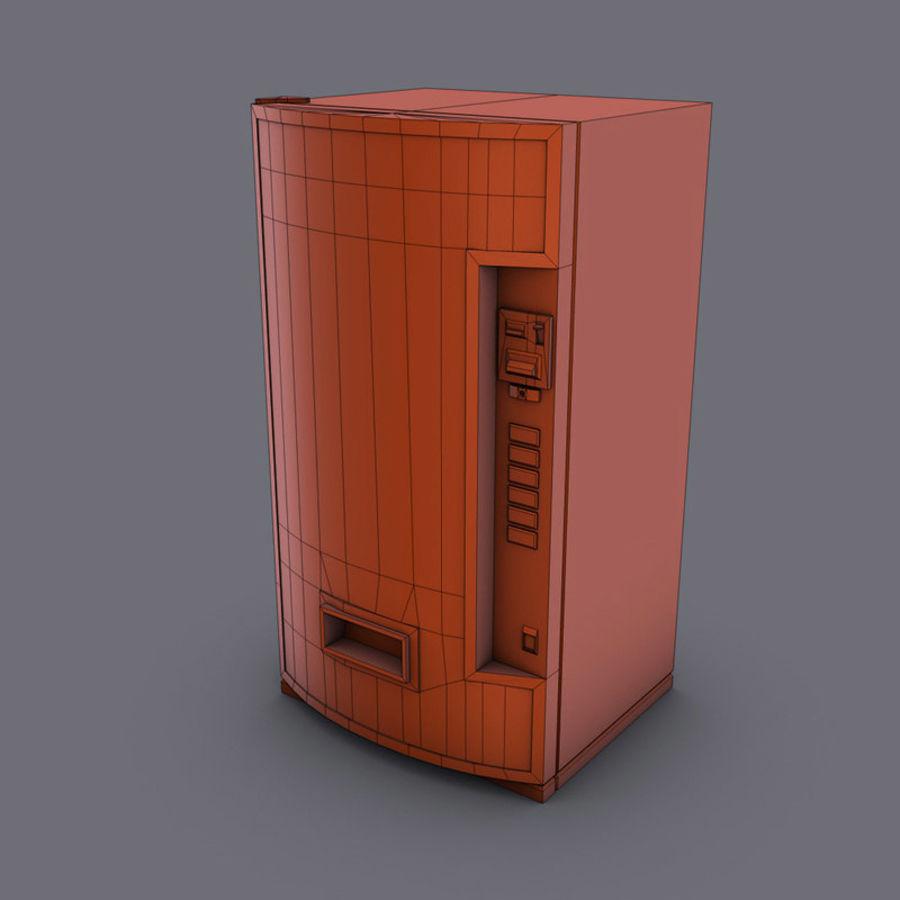 Distributore automatico di coca-cola royalty-free 3d model - Preview no. 8