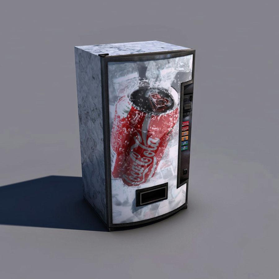 Distributore automatico di coca-cola royalty-free 3d model - Preview no. 2