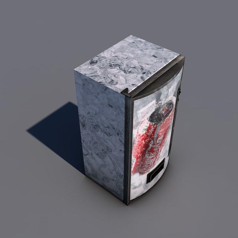 Distributore automatico di coca-cola royalty-free 3d model - Preview no. 6