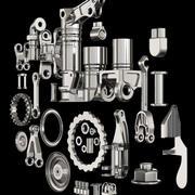 Détails acier 3d model
