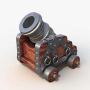 Old mortar 3d model