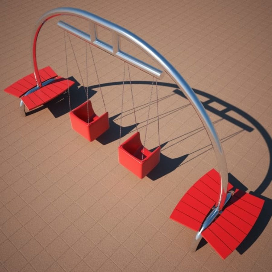 Big Swing royalty-free 3d model - Preview no. 2