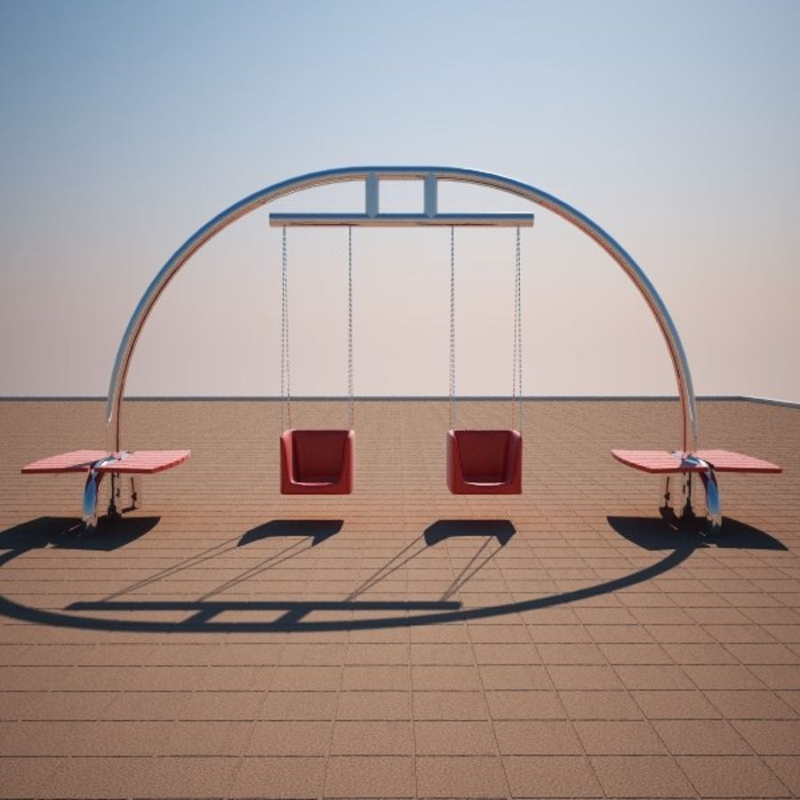 Big Swing royalty-free 3d model - Preview no. 4