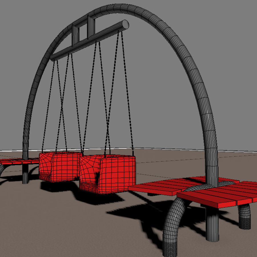 Big Swing royalty-free 3d model - Preview no. 7