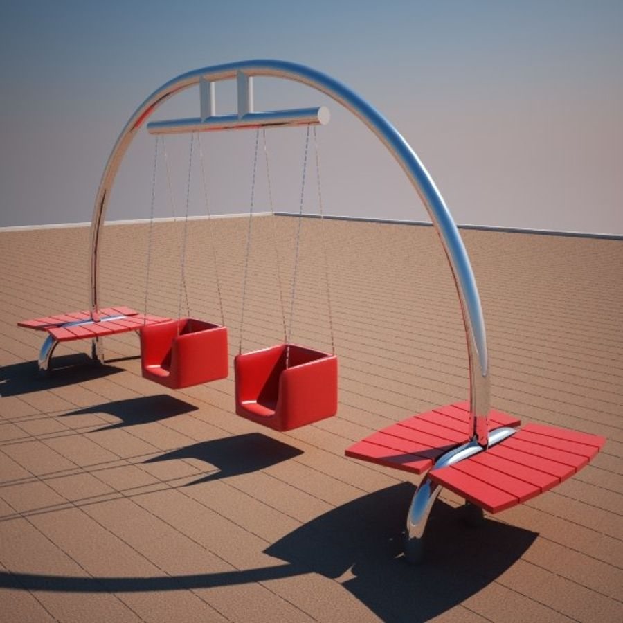 Big Swing royalty-free 3d model - Preview no. 1