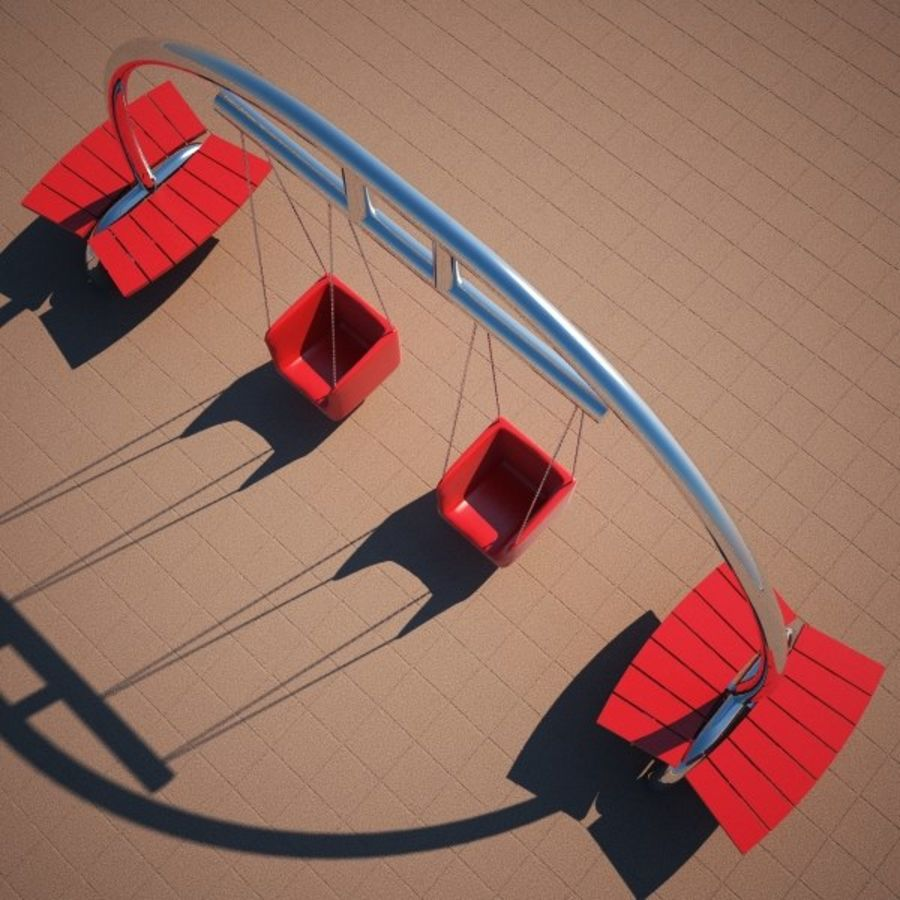 Big Swing royalty-free 3d model - Preview no. 3