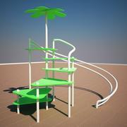 Flower Park 3d model