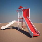 로터 슬라이드 3d model