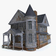 Scary House 3d model