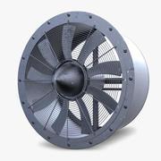 Industrial Large Fan 3d model