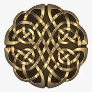 Кельтский Орнамент (Круг) 3d model