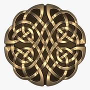 Celtic Ornament (Circle) 3d model