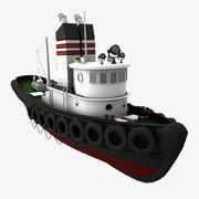 sleepboot 3d model