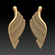 Vleugels 3d model