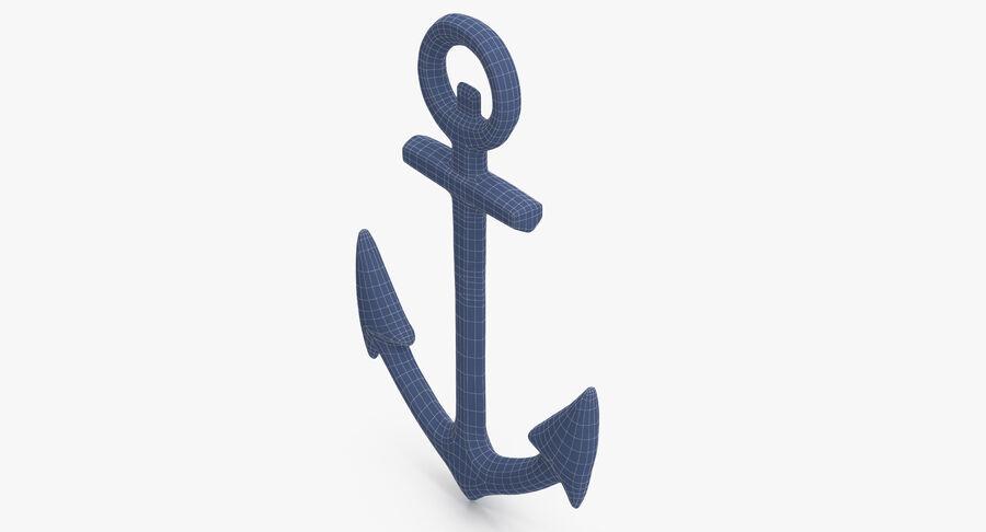 Ancre de bateau royalty-free 3d model - Preview no. 12