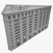 Costruire un centro business 3d model