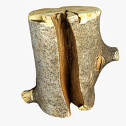 Kłoda drewna 3d model