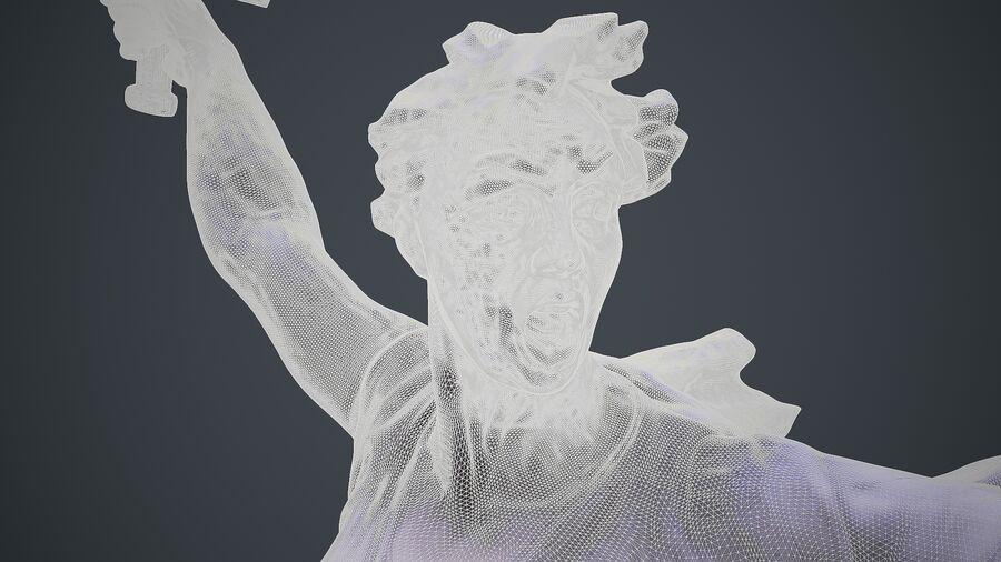 Ojczyzna Hi-poly royalty-free 3d model - Preview no. 8