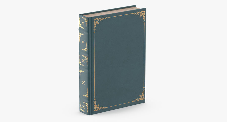Klassisches Buch 04 Stehend royalty-free 3d model - Preview no. 3