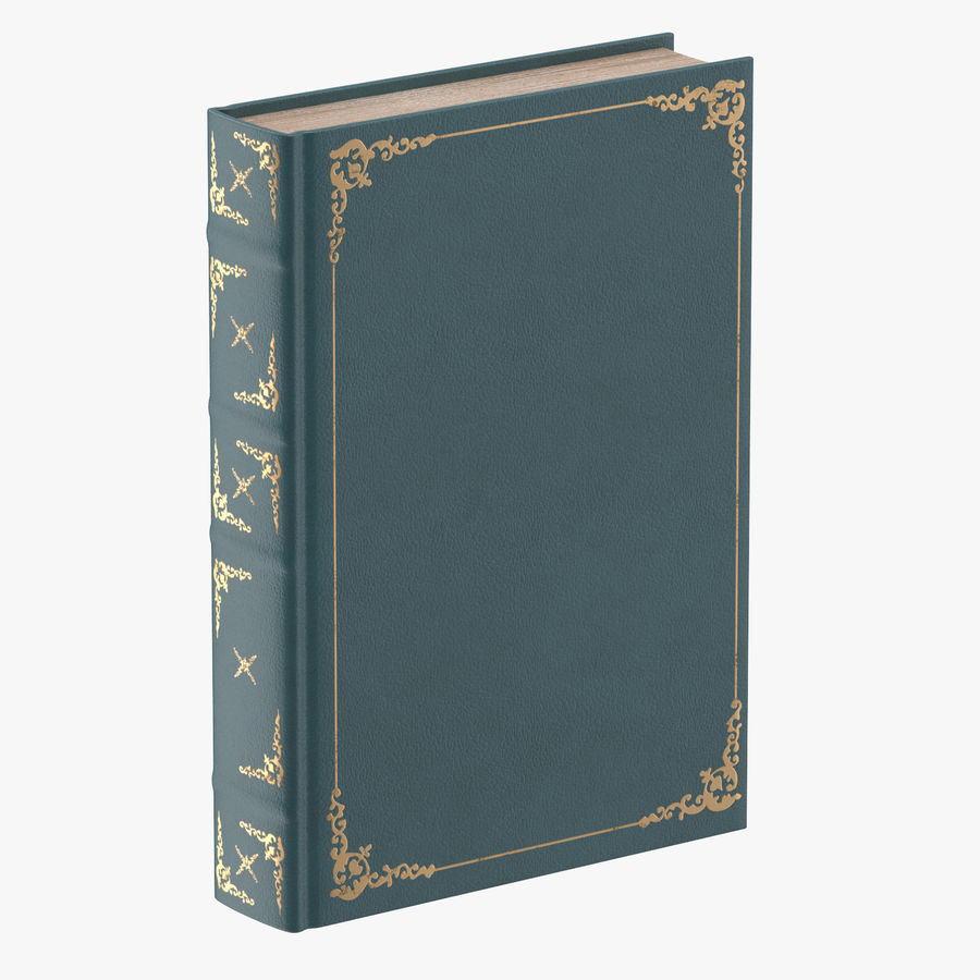 Klassisches Buch 04 Stehend royalty-free 3d model - Preview no. 1