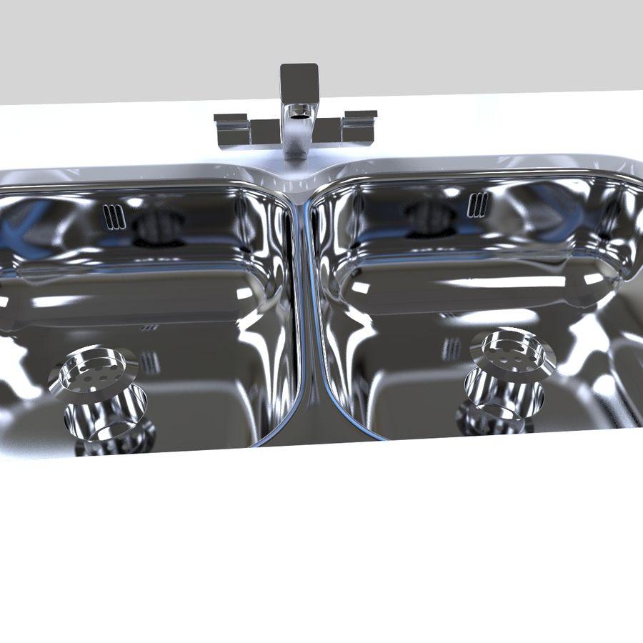 厨房家具 royalty-free 3d model - Preview no. 12