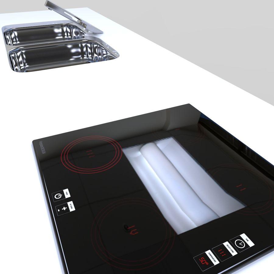 厨房家具 royalty-free 3d model - Preview no. 9