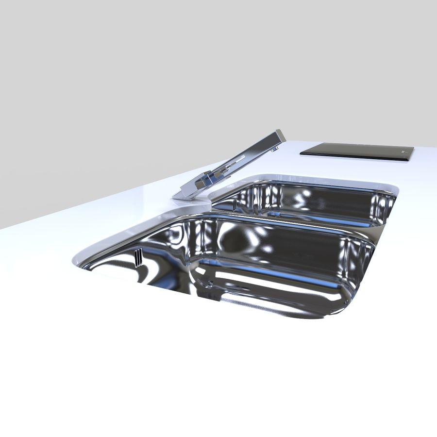 厨房家具 royalty-free 3d model - Preview no. 8