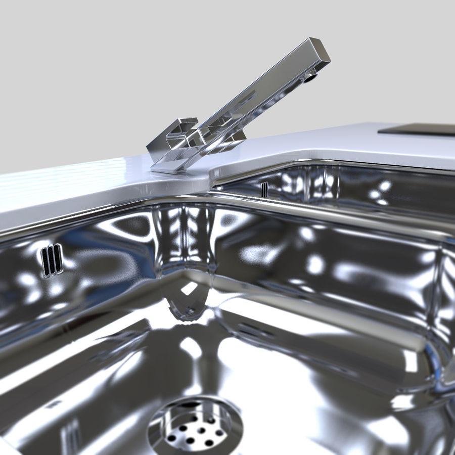 Muebles de cocina royalty-free modelo 3d - Preview no. 11