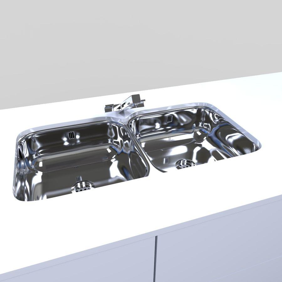 Muebles de cocina royalty-free modelo 3d - Preview no. 7