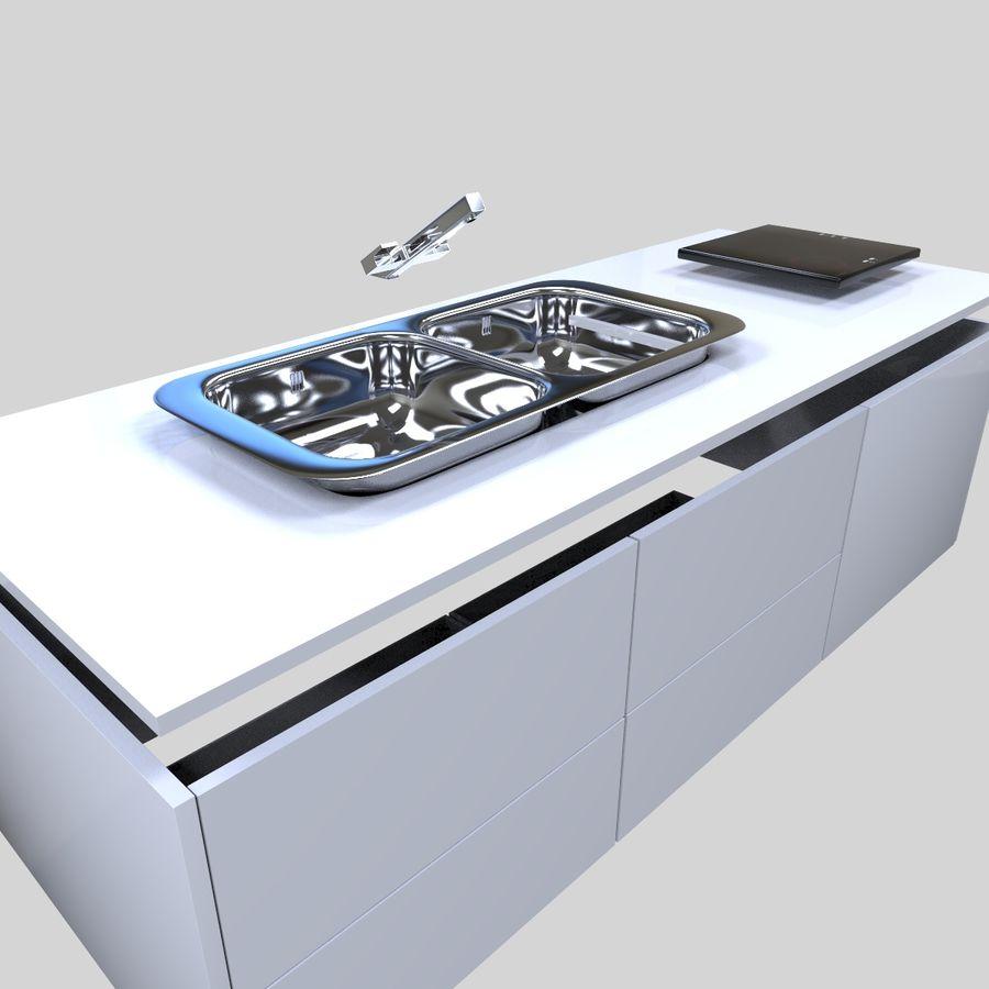Muebles de cocina royalty-free modelo 3d - Preview no. 13