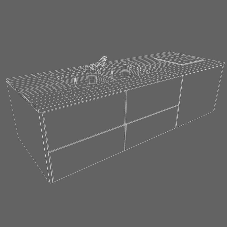 Muebles de cocina royalty-free modelo 3d - Preview no. 15