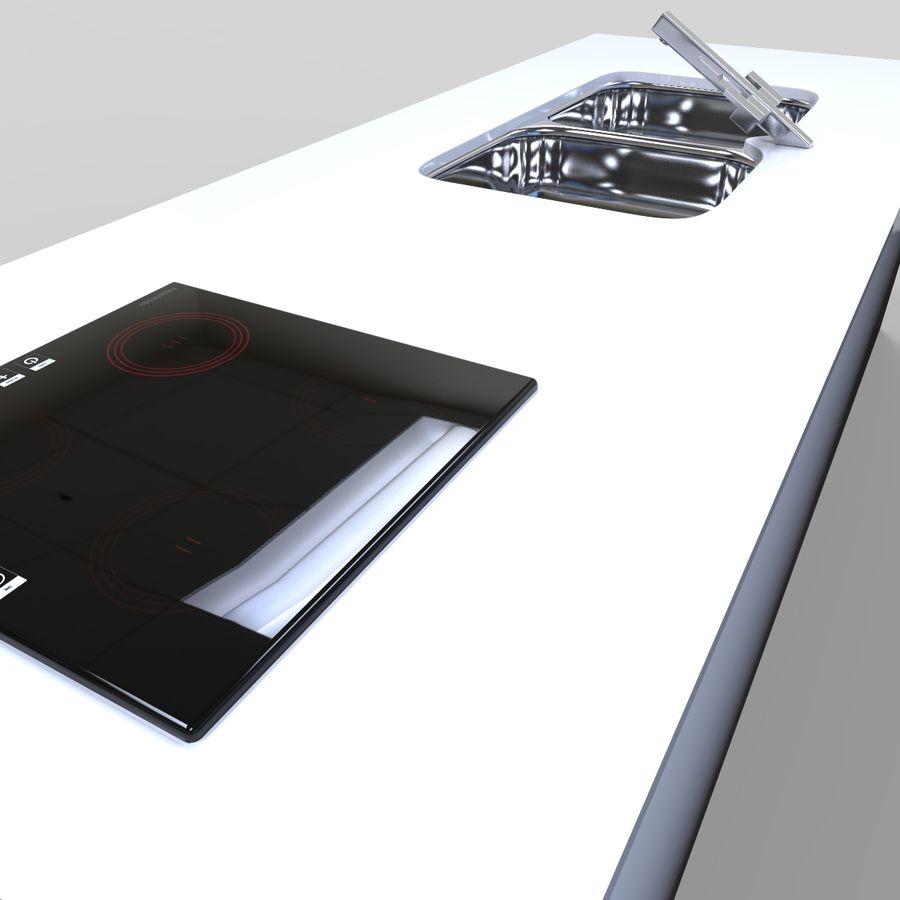 Muebles de cocina royalty-free modelo 3d - Preview no. 10