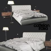 Bed Cattelan Italia亚历山大 3d model