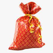 礼品袋 3d model