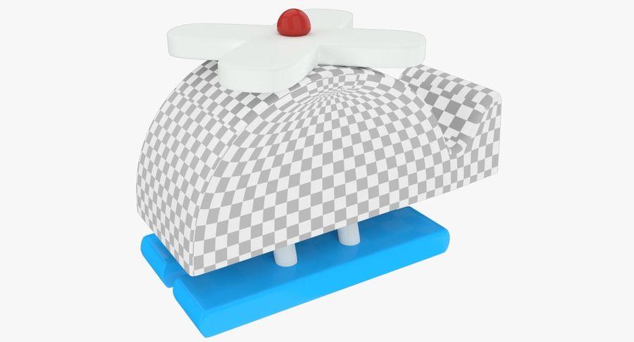 Avião de brinquedo royalty-free 3d model - Preview no. 12