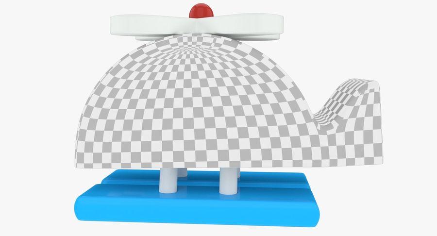 Avião de brinquedo royalty-free 3d model - Preview no. 14